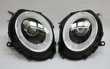 LED béquille phare avant set BMW Mini Cooper R55 R56 R57 Noir Clignotants led