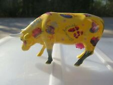 Westland Cow Parade More Than Just Meat #9193 Coffee Fruit Vegetables 2001