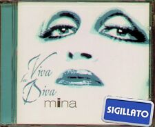 """MINA """" VIVA LA DIVA """" CD SIGILLATO EMI LATIN 2001  EMI U.S.A."""