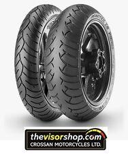 SET 120/70/zr17 & 160/60/zr17 Metzeler ROADTEC Z6 Tyres - PAIR - CHEAP !!!