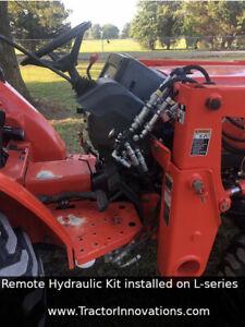 Remote Hydraulic Kit - Kubota B, L, MX, and M Series Tractors– 15 min. install