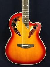 "Caraya SP-725CEQ/CS 41"" Electro-Acoustic Round Back Guitar EQ w/Free gig bag"