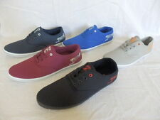 Henleys Lace-up Canvas Upper Material Casual Shoes for Men