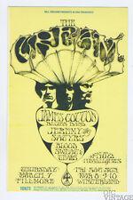 Bill Graham 110 Postcard Cream Blood Sweat and Tears 1968 Mar 7