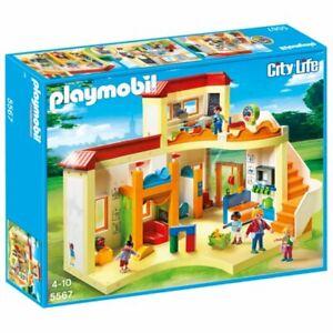 Playmobil City Life 5567 Kita Sonnenschein Kindergarten Spielzeug