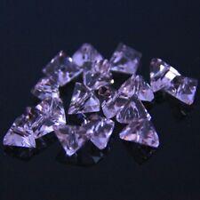 Swaro/vski 20pcs 6mm 3D-triangle Loose Crystal Glass beads DIY jewelry making