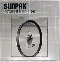 Sunpak 72mm PicturesPlus UV Filter NEW