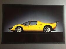 1967 Ferrari Dino Competizione Coupe Ferrari Print, Picture, Poster RARE Awesome