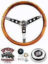 "1969-1972 Wildcat GS GS400 GS350 GS455 steering wheel BUICK 15"" CLASSIC WALNUT"