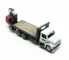 "N Scale ""I"" Class 16 Ft. Deck Freight Delivery Truck w/Donkey Forklift Kit(82)"