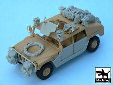 HUMVEE Iraq war accessories set for Tamiya,T48034,BLACK DOG,1:48