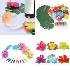 98 Table Decorations Supplies Moana Themed Party Tropical Luau Hawaiian Leaves