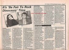 MIKE OLDFIELD Exposed album review 1979 UK ARTICLE / clipping