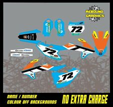 KTM SX 50 65 Graphics Kit Sticker Kit Decals SX 50 SX 65