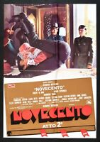 Werbeplakat Novecento Akt 2 Bertolucci Robert De Niro Depardieu Lancaster A S14