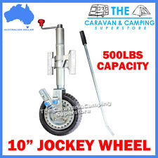 "10"" POWER MOVER RATCHET JOCKEY WHEEL WITH CLAMP PREMIUM 250MM"