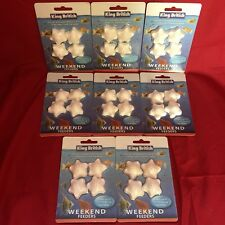 8 x Vacation Weekend Holiday Fish Food Blocks For Tropical Or Coldwater 3-4 Days