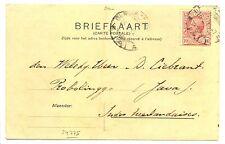 NED INDIE S.M.N.1912-9-16 = S.S. KONINGIN DER NEDERLANDEN= (KAART AFB. SCHIP)