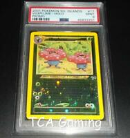 PSA 9 MINT Vileplume 17/18 Southern Islands REVERSE HOLO Pokemon Card