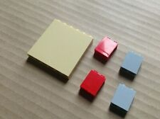 Parte 54384 y 54383 Blanco 6 X 3 cuñas de izquierda y derecha