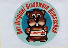 ADESIVO VINTAGE STICKER DER ORIGINAL GIESSWEIN HAUSSCHUH TIROL