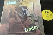 TRAITOR Picture / Dutch LP 1985 BACKDOOR 824806-1