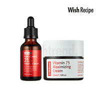 BY WISHTREND Pure Vitamin C21.5% Advanced Serum + Vitamin 75 Maximizing Cream