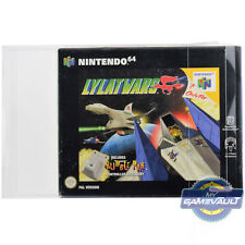 Game BOX PROTECTOR for N64 Lylat Wars STRONG 0.5mm Plastic Display Case Nintendo