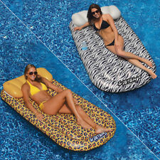 Swimline Wildthings Swimming Pool Mattress Cheetah & Zebra - Combo Pack