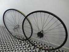 Mavic 501 hubs x Mavic open sup CD ceramic rims wheelset