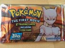 RARE 1999 Topps Pokemon The First Movie Trading Cards Animation Edition
