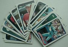 1989 MONTREAL EXPOS TEAM SET (RANDY JOHNSON ROOKIE, RAINES, GALARRAGA +