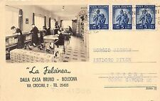 4275) BOLOGNA, NEGOZIO DI SCARPE LA FELSINEA DI DALLA CASA VIA CROCIALI. VG1950.