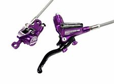 Hope Tech 3 X2 Purple Right / Rear with Braided Hose Brake - Brand New