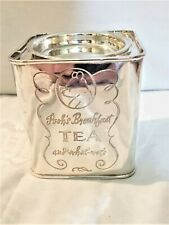 Disney Winnie the Pooh Silver Plate Tea Canister