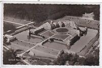Ansichtskarte Blick aus das Schloss Nordkirchen in Westfalen - schwarz/weiß
