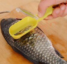 Practical Fish Scale Remover Scaler Scraper Cleaner Peeler Kitchen Tools Gadgets