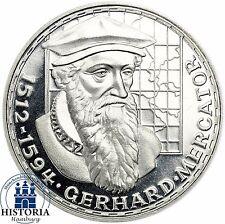 Deutschland 5 DM Silber 1969 Spiegelglanz Gerhard Mercator in Münzkapsel