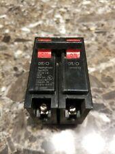 20 Amp Circuit Breaker  -WARRANTY Bryant BQ220-220 2 120//240V 2 Pole TANDEM