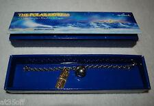 HALLMARK Polar Express Charm Bracelet w/Ticket and Bell - BRAND NEW IN BOX