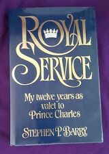 Royal Service, My twelve years as valet to Prince Charles, 1983, British Royal