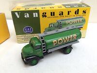 VANGUARDS 1/64 VA20000 Leyland Comet Tanker POWER PETROL   BOXED