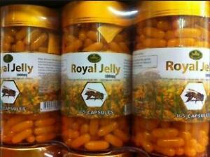 Nature's King Royal Jelly 1000 mg 365 Soft Capsules