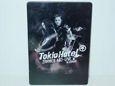 """**DVD-TOKIO HOTEL""""ZIMMER 483-LIVE-IN EUROPE""""-2006 Universal Lim.Edit Steelbox**"""