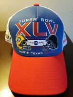 Stadium Collection NFL Super Bowl XLV red mesh hat Packers Steelers