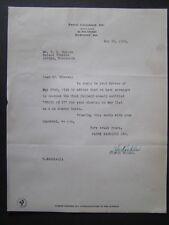 Movie Letterhead Pathe 1924 Where Am I Snub Pollard Molly Thompson Naoh Young