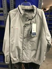 frog togs Road Toad Rain Jacket, New with Tags, Gray, Lg, zip Out Hood.