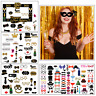 Happy New Year Favor Party Props Photo Booth Glasses Frame Supplies Decor