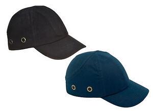 Spire Safety Baseball Cap, Bump Cap, Hard Hat Navy or Black EN812