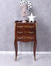 Dresser Baroque Nightstand Marquetry Bedside Table Baroque Wardrobe Solid Wood